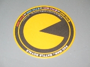 Pac Man Battle Royale Promo Drink Coaster