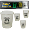 Space Invaders Glow in the Dark Shot Glasses - set of 4