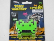 Space Invaders Key Chain Light